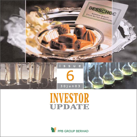 2003 Investor Update 2nd Qtr
