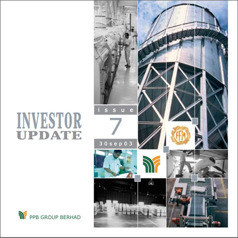 2003 Investor Update 3rd Qtr