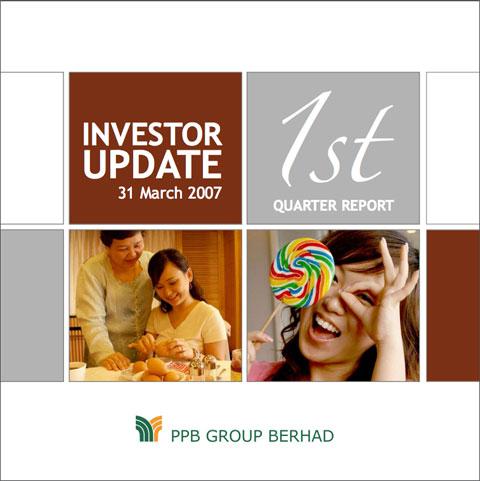 2007 Investor Update 1st Qtr