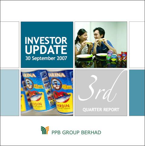 2007 Investor Update 3rd Qtr
