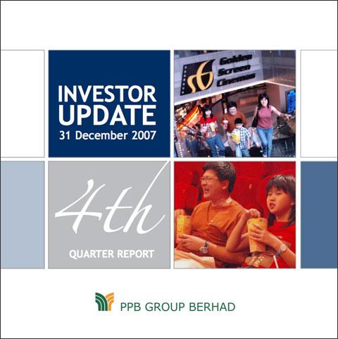 2007 Investor Update 4th Qtr