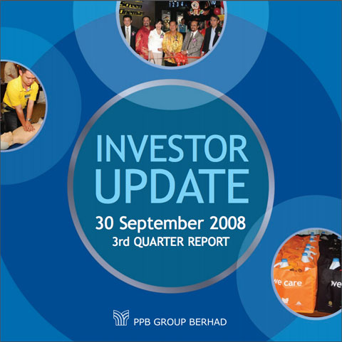 2008 Investor Update 3rd Qtr