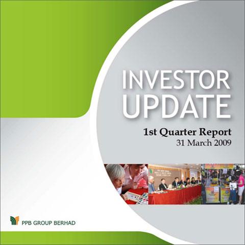 2009 Investor Update 1st Qtr