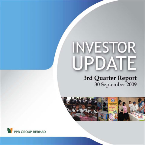 2009 Investor Update 3rd Qtr