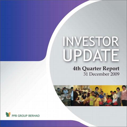 2009 Investor Update 4th Qtr