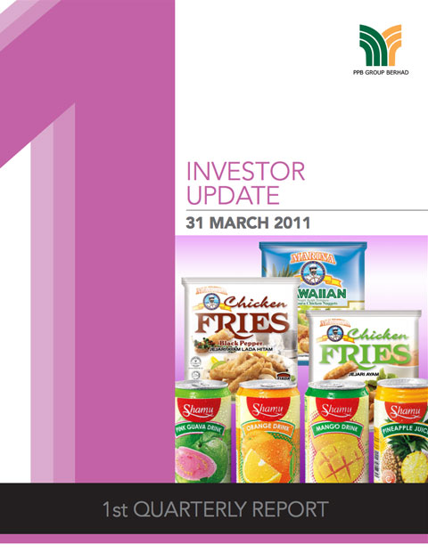 2011 Investor Update 1st Qtr