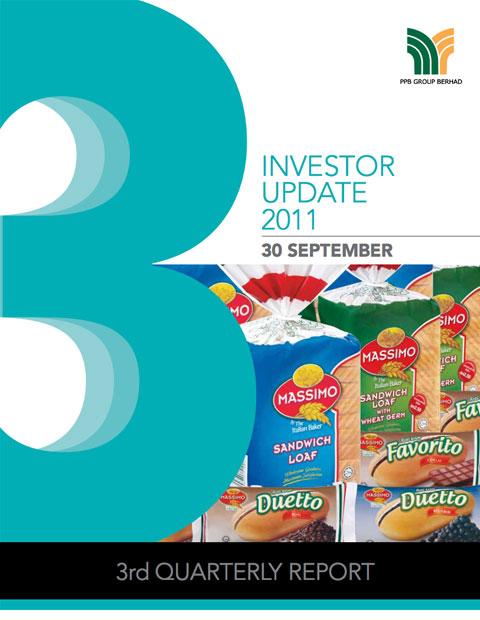 2011 Investor Update 3rd Qtr