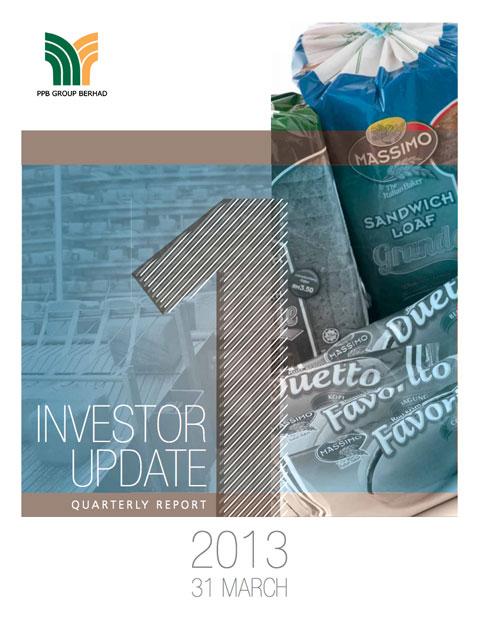 2013 Investor Update 1st Qtr