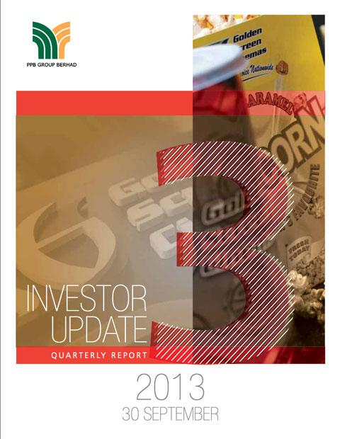 2013 Investor Update 3rd Qtr