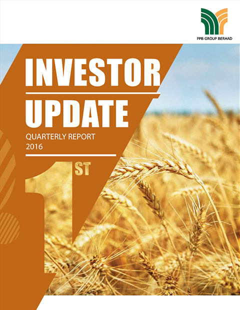 2016 Investor Update 1st Qtr