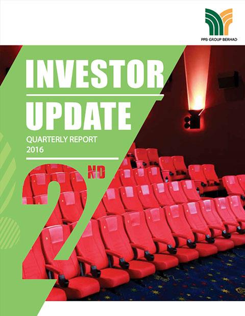 2016 Investor Update 2nd Qtr