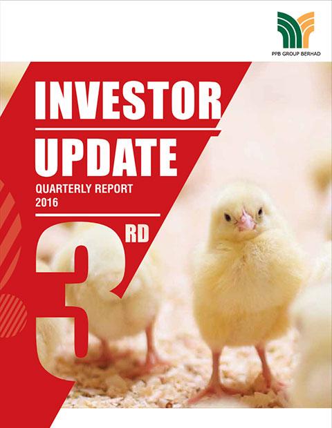 2016 Investor Update 3rd Qtr