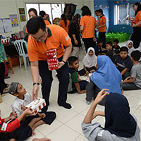 PPB Celebrates Hari Raya With The Children Of Yayasan Chow Kit