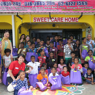 PPB Celebrates with the Children from Sweet Care Welfare Society Home