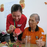CNY Celebrations with Senior Citizens