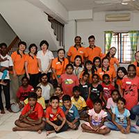Deepavali Celebration with the Children of Pertubuhan Kebajikan Thangam Illam