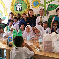 Hari Raya Celebration with the Children of Little Yellow Flower Foundation