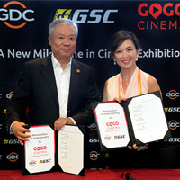 GSC and GDC Technology to Introduce Cinema-On-Demand With GoGoCinema