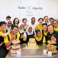 Opening of Bake X Dignity
