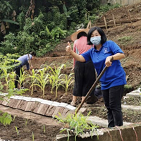 Sponsorship of Edible Garden for the Community Service Centre for the Deaf